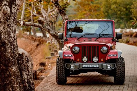 thar jeep modified in kerala this is the cleanest thar to wrangler mod job we ve seen
