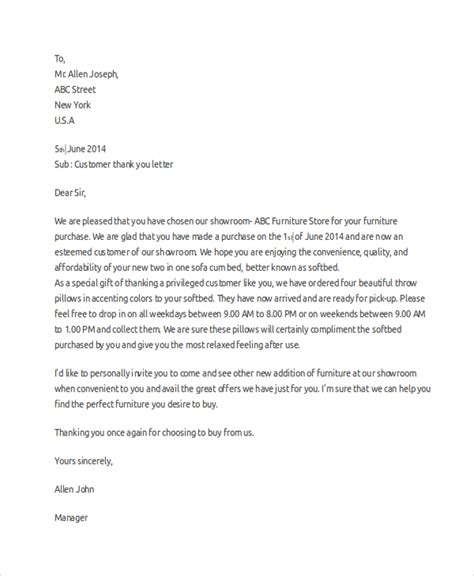 professional thank you letter 8 sle professional thank you letters sle templates 12746