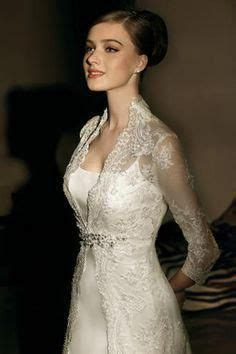 high  collar  neckline long sleeve wedding dresses