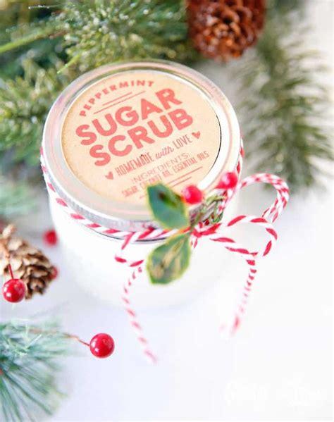 sugar scrub recipe   printable labels skip   lou