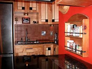 Frank lloyd wright inspired kitchen for Kitchen cabinets lowes with frank lloyd wright metal wall art