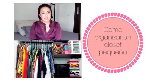 c 243 mo organizar un closet peque 241 o how to clean my closet