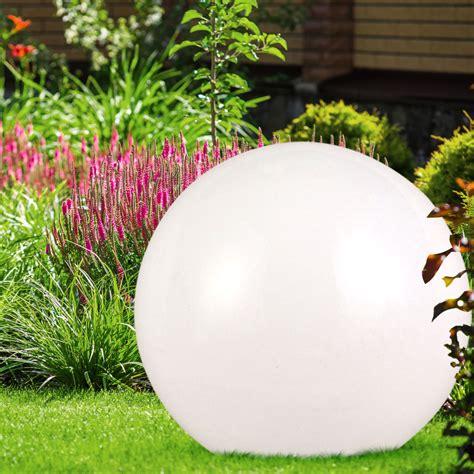 3er Set Led Außenbereich Solarkugeln Steckleuchte Garten