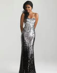 sparkly bridesmaid dresses silver black ombre sequin strapless prom dress unique vintage prom dresses retro dresses