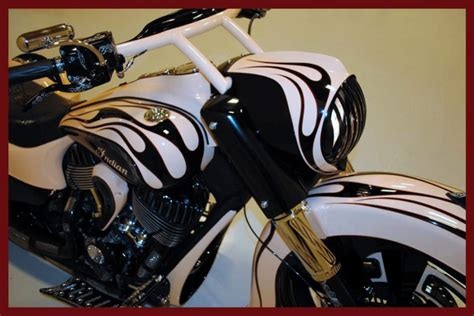 Indian Motorcycle Headlight Nacelle For Raked Bikes
