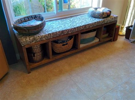 window seat storage bench    home projects