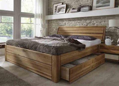 easy sleep schubladenbett komforthoehe eiche massiv