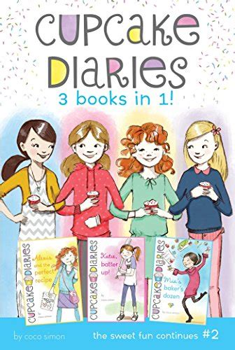 Cupcake Diaries 3 Books In 1 2 Alexis And The Perfect