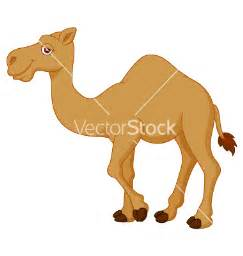 Cute Cartoon Camels