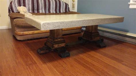 shanty 2 chic coffee table concrete pedestal coffee table shanty 2 chic