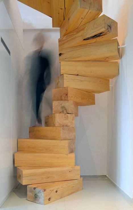 escalier moderne bois 28