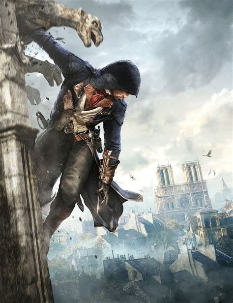 Assassins Creed Unity On Behance Cover Art