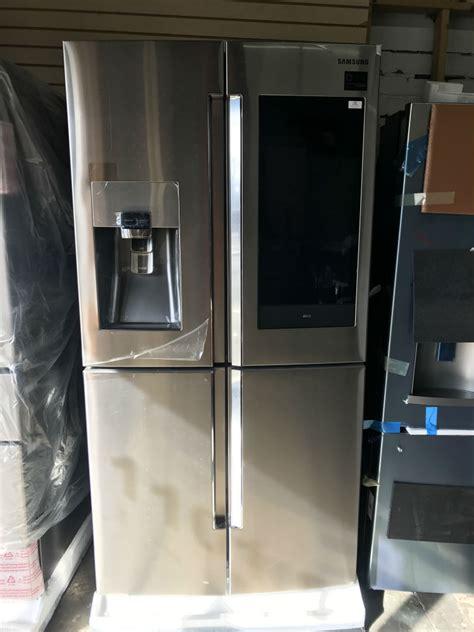 samsung refrigerators door  touch screen