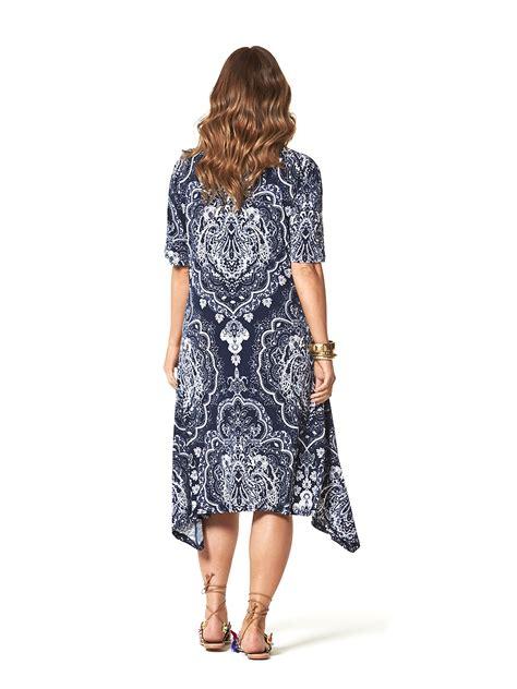 mosaic dress  size