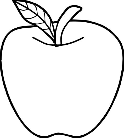 apple color sheet apple coloring page wecoloringpage