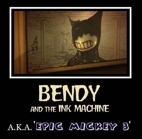Bendy Memes - epic bendy motivational by metroxlr on deviantart