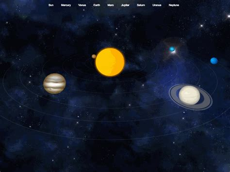 Animated Solar System Wallpaper - animated 3d solar system images