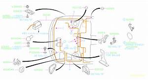 2006 Subaru Legacy Clamp Alt  Wiring  Main  Harness