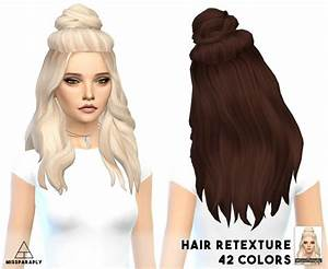 Sims 4 Hairs Miss Paraply Vellichor Hairstyle Retextured