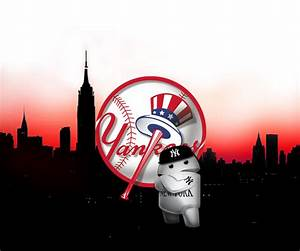 NY Yankees iPhone Wallpaper - WallpaperSafari