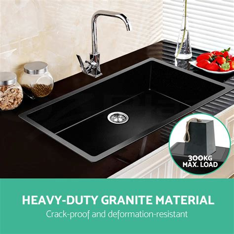 cheap black kitchen sinks premium black kitchen sink granite top undermount 5240