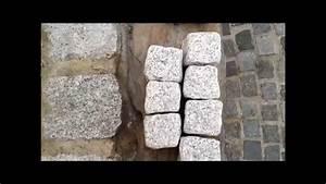 Beeteinfassung Granit Anleitung : b m granity getrommelte granit pflastersteine grau rustikal ohne scharfe kanten youtube ~ Markanthonyermac.com Haus und Dekorationen