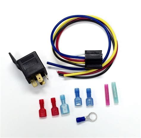 Electric Cooling Fan Relay Wiring Harness Ebay