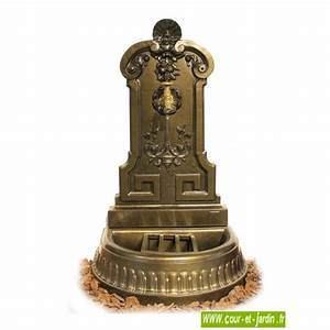 Fontaine De Jardin En Fonte : fontaines de jardin fontaine fonte dite fontaine murale ou fontaine de terrasse ~ Melissatoandfro.com Idées de Décoration