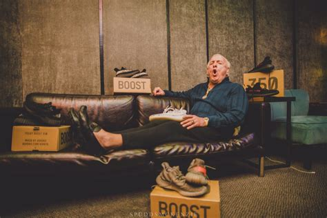 ric flair yeezys sole collector