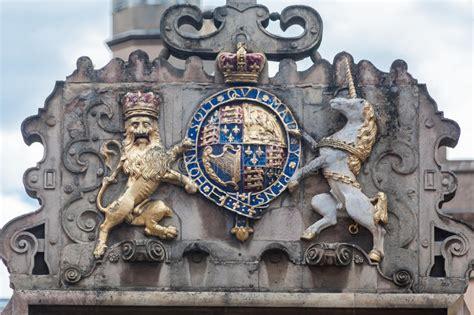 stemma reale cambridge inghilterra fotografia stock immagine di facade adorned 46846594