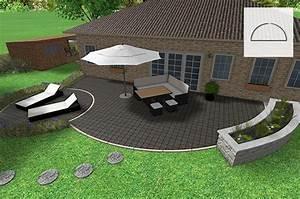 steinplatten terrassenboden materialien im uberblick With feuerstelle garten mit wpc fliesen verlegen balkon