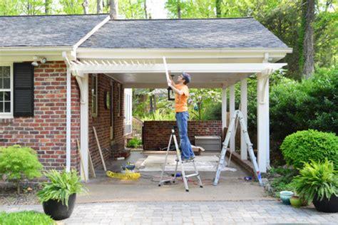 Port Side Garage building a garage or carport pergola house
