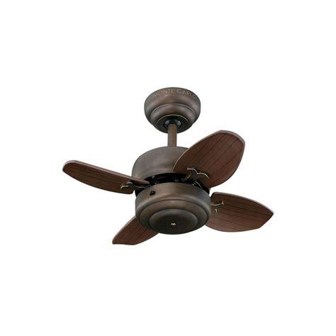 mini ceiling fan with light monte carlo mini 20 20 in roman bronze ceiling fan