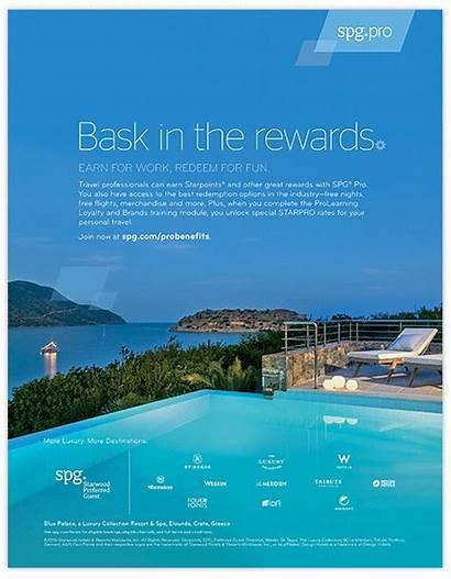 Ads Magazine Resorts Hotels Pro Starwood Newspaper