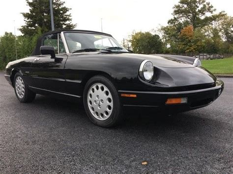 1993 Alfa Romeo Spider For Sale by 1993 Alfa Romeo Spider Veloce Convertible 40k Rust