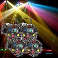 Chauvet Jam Pack Silver Lighting Package Dj Light Packages Laser Led Wash Stage Light Par
