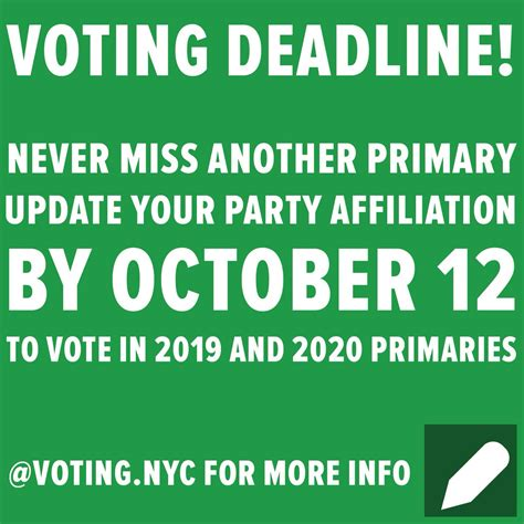 nyc registration to vote educated voter ny educatedvoterny twitter
