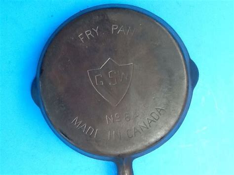 iron cast pan canada fry gsw cookware wood griswold skillet stoves stove care skillets visit burning collectible