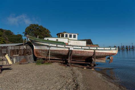 boat abandoned shrimp florida fishing wooden camp woods carolina china south louisiana sunken tire