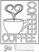 Beker Kiddicolour Coffeecups Stackbookmarks Davemelillo sketch template