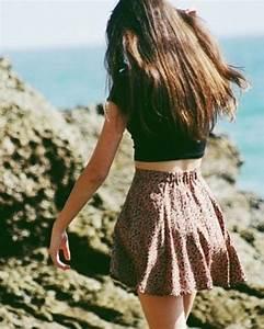 Skirt: floral pettern skirt, summer dress, summer, summer ...
