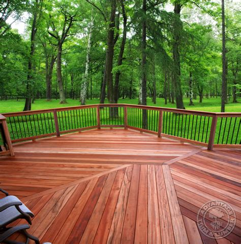 Tiger Wood Decking Canada by Decking Flooring Project Gallery Advantage Trim