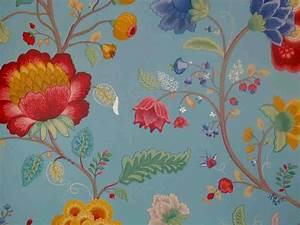 Vintage Tapete Blumen : pip studio vlies tapete 341035 floral blau vintage euro pro m ebay ~ Sanjose-hotels-ca.com Haus und Dekorationen