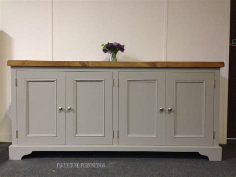 Painted Pine Sideboards, Solid Pine Plank Top 6ft