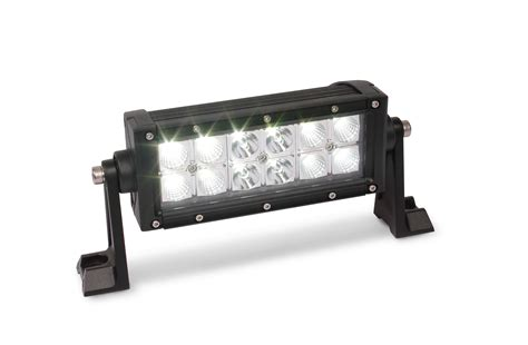led 36 watt 7 quot work light bar custer products custer