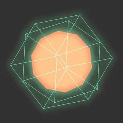 Animation Geometric Animated Geometry Gifs Shape Mathew