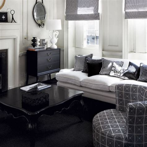 and black living room black and white living room design and ideas White