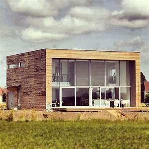 16 best images about maison a ossature bois on pinterest for Delightful maison bois toit plat 16 extension de maison en bois