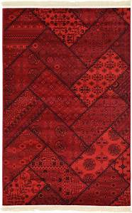 Bokhara patchwork design rug traditional rugs persian carpet for Traditional carpet designs