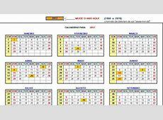 PT Calendar Excel Bing images